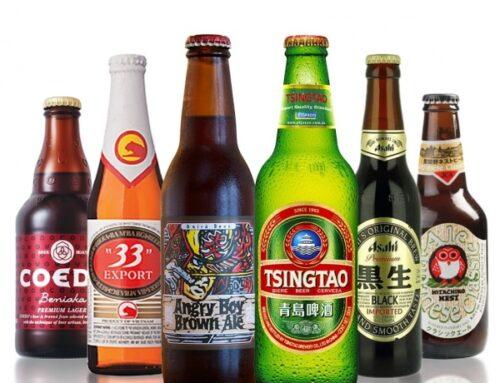 Top 10 Aziatische bieren