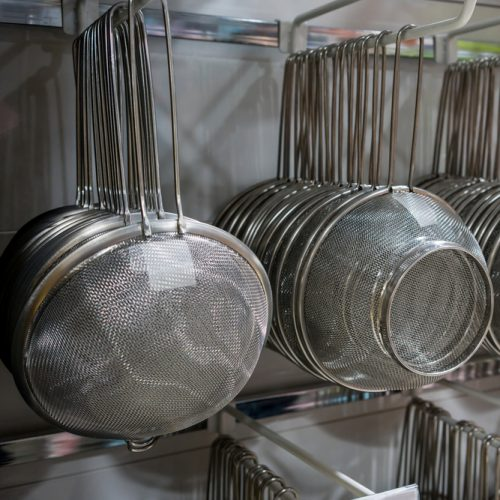 Strainers