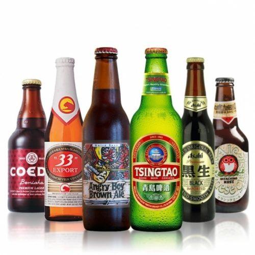 Aziatische Bieren