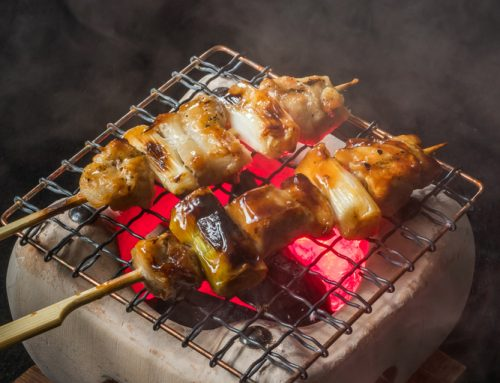 Konro Grill and the use of binchotan